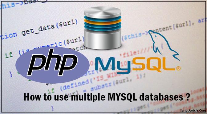how-to-use-multiple-mysql-databases