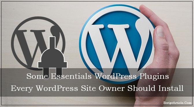 essentials-wordpress-plugin-every-wordpress-install