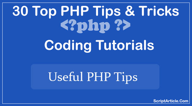 php-tricks-tips-coding-tutorials