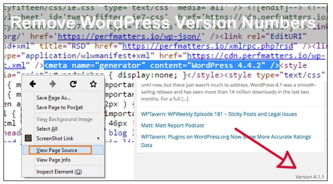 remove-wordpress-version-numbers