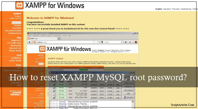 xampp-mysql-root-password