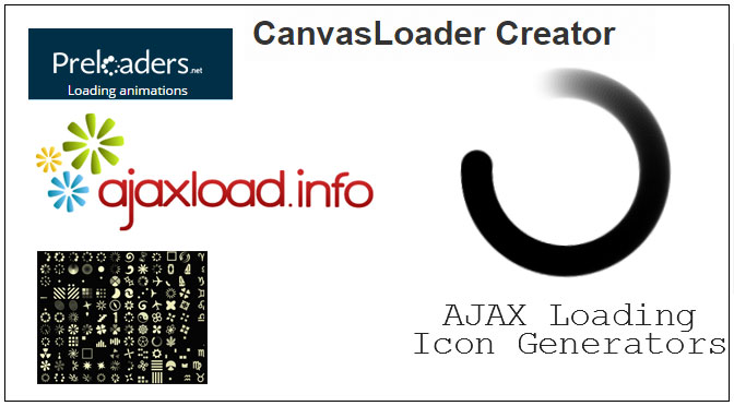 ajax-loading-icon-generators-tools