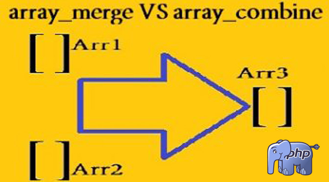 array_merge-array_combine-difference