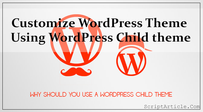 wordpress-child-theme-customize